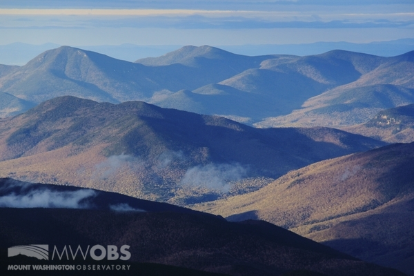 Looking at some of the summits south of Mt Washington, NH
