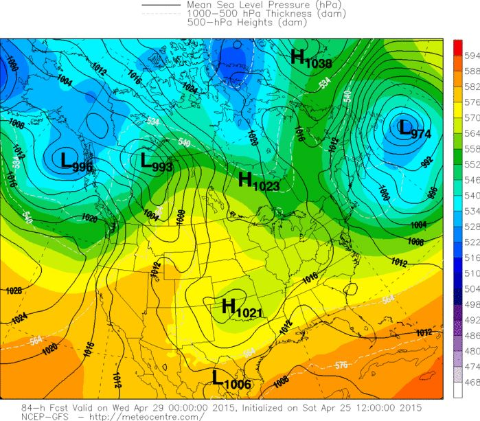 Another low pressure moving in this coming Tuesday
