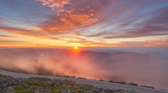 Sunrise From Mount Washington