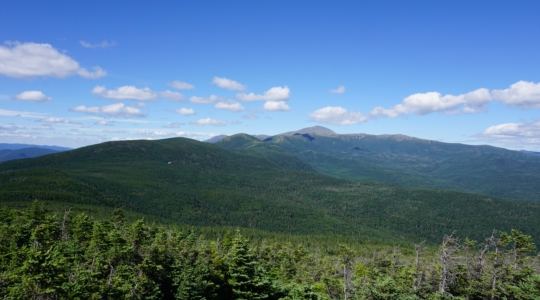 Southern Presidentials and Washington from Mt Jackson