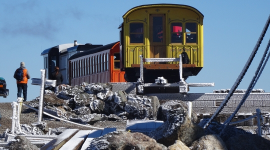 Train Ending at the Summit