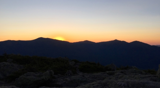 Sunset from Mt Hight